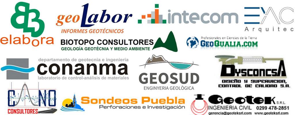 Logos empresas geotecnia